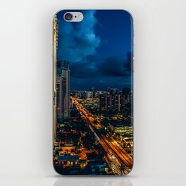 The Skyline (Color) iPhone Skin