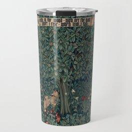 William Morris Greenery Tapestry Travel Mug