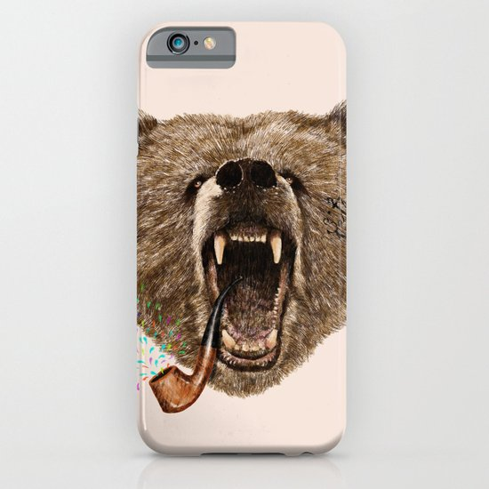 Angry Bear iPhone & iPod Case
