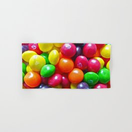 Colorful Chewy Candy Hand & Bath Towel