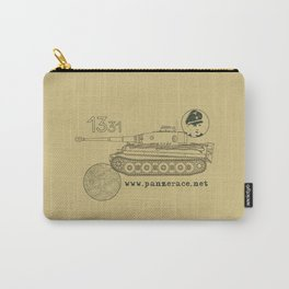 Michael Wittmann Panzer Ace 1331 Kursk Sand/Olive Green Carry-All Pouch