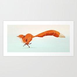 Fox 1 Art Print