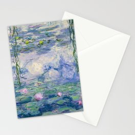 "Claude Monet ""Water Lilies(Nymphéas)"" (9) 1916–19.jpg Stationery Cards"