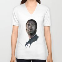 allison argent V-neck T-shirts featuring Argent by @cuisle