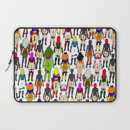 Superhero Butts - Girls Superheroine Butts LV Laptop Sleeve