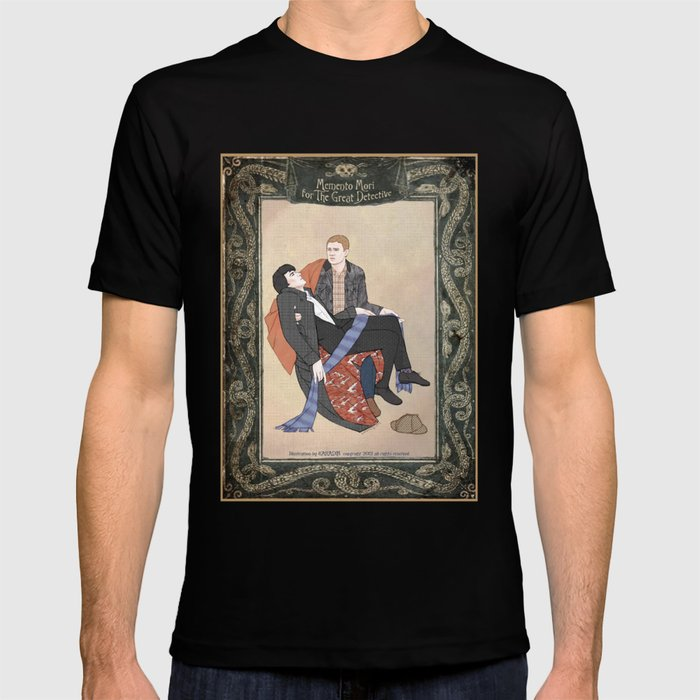 Memento Mori for the Great Detective (Sherlock Holmes) T-shirt