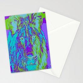 Lion Stationery Cards