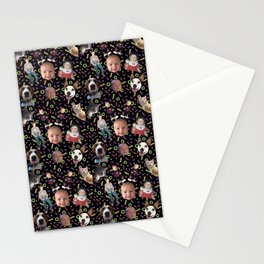 Squid Squad Stationery Cards
