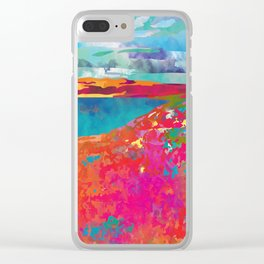 Hello Nature Clear iPhone Case