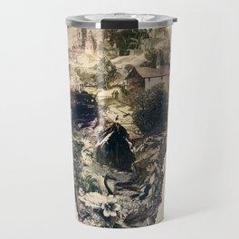 Skull Town Travel Mug