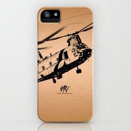 Copper Chinook iPhone Case