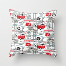 LONG WEEK END Throw Pillow