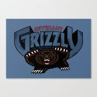Revenant Grizzly Canvas Print