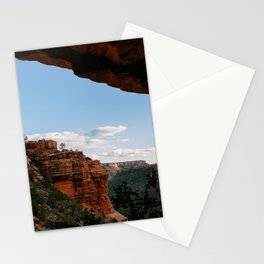 Sedona Sights From Under A Natural Arch Stationery Cards
