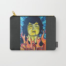 Roseanne Barr, She-Devil Carry-All Pouch
