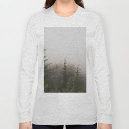 Foggy Forest Long Sleeve T-shirt