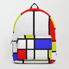 Mondrian #58 Backpack