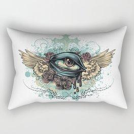 Bleeding Eye Rectangular Pillow