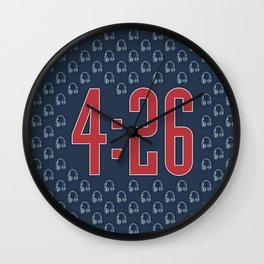 4:26 / The average length of a modern pop song Wall Clock