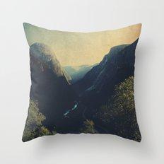 mountains VII Throw Pillow