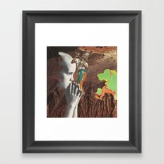 law of superposition Framed Art Print