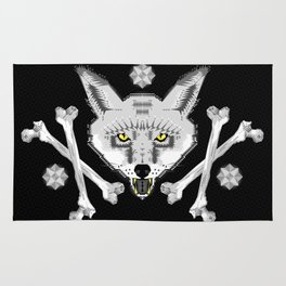 Silver Fox Geometric Rug
