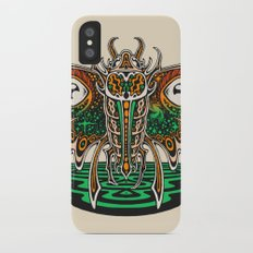 Cosmic Insect - Light Slim Case iPhone X