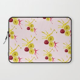 watercolor pattern with  flower bouquets Laptop Sleeve