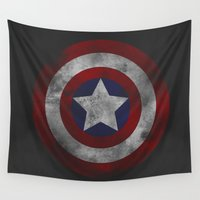 plain Wall Tapestries featuring Civil War - Plain by EmeraldSora