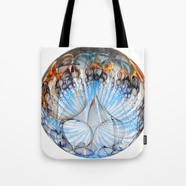 Colored Sphere Tote Bag