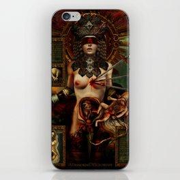 Ad maiorem Dei gloriam (A.M.D.G.) +13 iPhone Skin