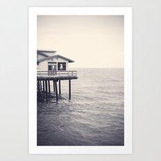 Santa Barbara Pier Art Print