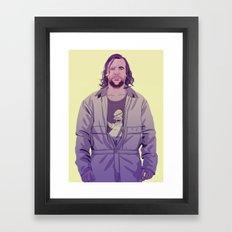80/90s - The H. Framed Art Print
