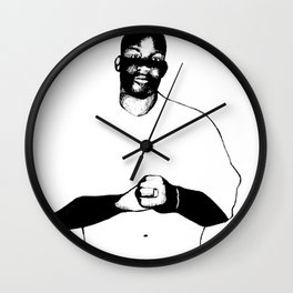 COMRADE HASAN SHAKUR Wall Clock