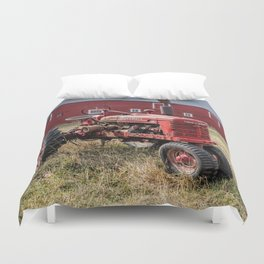 Two Old Reds Duvet Cover