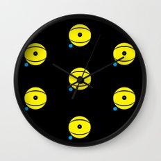 lazy eye Wall Clock