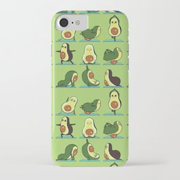 Avocado Yoga iPhone Case