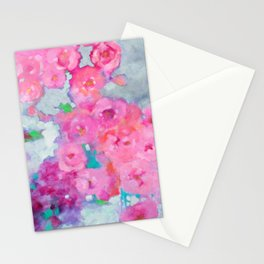 Rose Cascade Stationery Cards