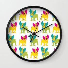 Charlie chihuahua Wall Clock
