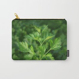 Close picture of parsley Carry-All Pouch