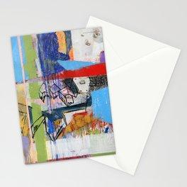 Abstract Mixed Media Compositon V.Threeve Stationery Cards
