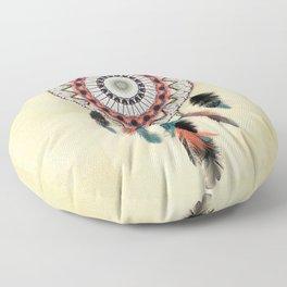 Mandala Dream Catcher Floor Pillow