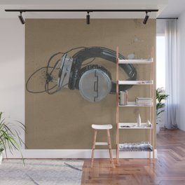 Sol Republic Headphones - These are the things I use to define myself Wall Mural