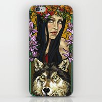finland iPhone & iPod Skins featuring Finland beauty by Carol Wellart