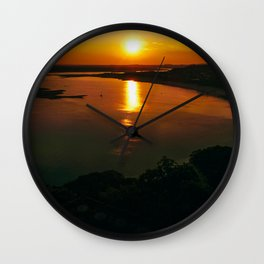 When the sun went down Wall Clock