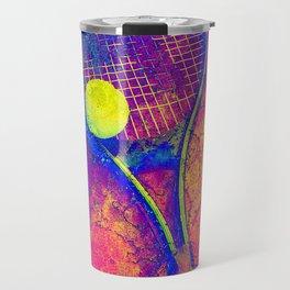Tennis art Travel Mug