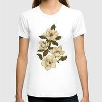 T-shirts featuring Magnolias by Jessica Roux