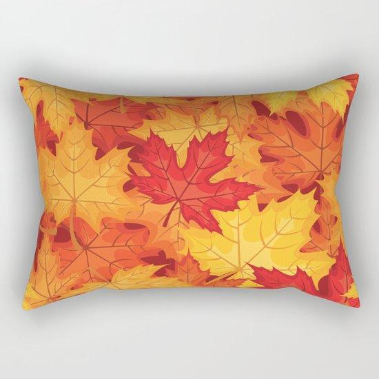 Autumn leaves #10 Rectangular Pillow