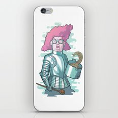 Dona Dulce and her magic spaghetti iPhone & iPod Skin