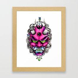 Mean Mega Mike Framed Art Print